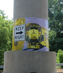 Keep Right (Fan-T) Tags: railroad ohio july4 akron alco mlw fpa4 rs18 cvsr cuyahogavalleyscenicrailway