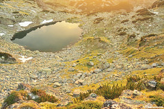 There are more than 200 glacial lakes in Rila mountain, and this is just one of them (.:: Maya ::.) Tags: park sunset mountain lake nature bulgaria rila national  ezero    mayaeye mayakarkalicheva   prekorechko