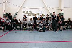 the ref crew (nocklebeast) Tags: sports action rollerderby rollergirls richmond kansascity skates rollerwarriors bayareaderbygirls badg cranewaypavilion leicasummilux24mmf14asph