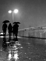 heavy rain // hamburg, germany (pamela ross) Tags: bridge reflection rain pen germany harbour hamburg olympus hafen ep1