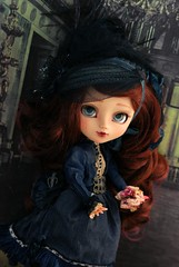 In the Palace (Rebeca Cano ~ Cookie dolls) Tags: art artwork doll belle pullip piece isadora epoque cookiedolls rebecacano