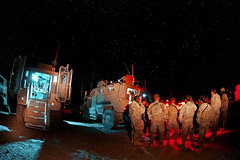 Night Briefing (The U.S. Army) Tags: afghanistan distro ghazni a 307bsb
