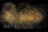 Fireworks ignite over the Olympic Stadium during the Opening Ceremony at the 2012 Summer Olympics London, England