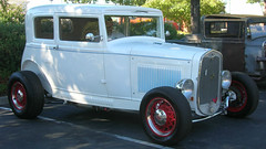 1931 Ford Model A Victoria (Custom) '3JDX479' 1 (Jack Snell - Thanks for over 26 Million Views) Tags: ca old classic antique vacaville diner historic oldtimer veteran mels cruiseins