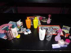 Rement (krlim23) Tags: cute set toy toys miniatures doll barbie shampoo rement diorama puchi dollhouse