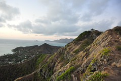 Taken! (XJCreations) Tags: sunrise hawaii oahu hiking lanikai bunkers pillboxes kawiaridge