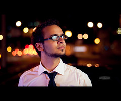 Tarek (Hallenser) Tags: portrait male face night nikon gesicht bokeh flash blitz speedlight 2012 tarek hallesaale strobist yn460 nikond5000 yongnuorf602 yn560 nikond5000withnikkorafs50mmf14g