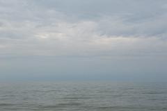 North Sea II (Bart van Damme) Tags: sea sky reflection coast waves nederland thenetherlands noordzee zee northsea reclamation newland gurskyesque rotterdamharbour rotterdamhaven tweedemaasvlakte maasvlakte2 rotterdamarea emailinfostudiovandammecom