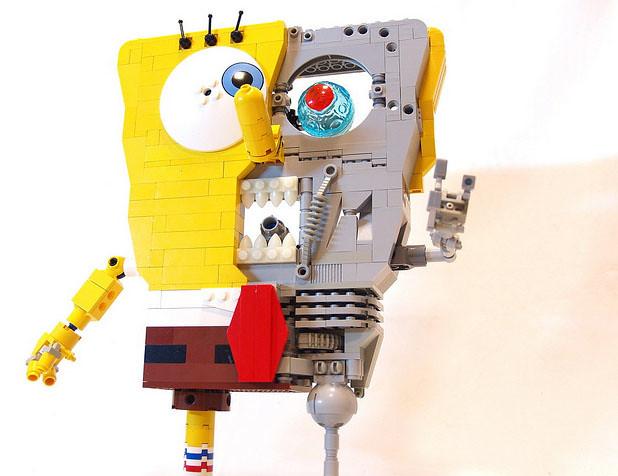 樂高 海綿寶寶巨人 玩家改造版
