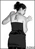v (bruce photos2012) Tags: girl tattoo tat lány csaj tetoválás tetkó