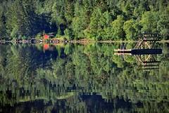 Morgenspeil -|- Morning mirror (erlingsi) Tags: lake reflection weather norway mirror morninglight norge lac reflet noruega oc vann sunnmre vatn noorwegen noreg innsj erlingsivertsen morgenlys speiling vr rotevatn morgonljos