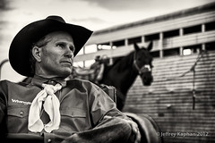 Bobby Marriott 8.12 (jk.photos) Tags: portrait horses people bw cowboys rural nikon montana events missoula rodeo cowboyhats cowboyboots d700