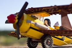 On our way (EvasSvammel) Tags: airplane toys lego iväg