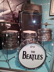 Beatles drumset & amps (doryfour) Tags: drum beatles