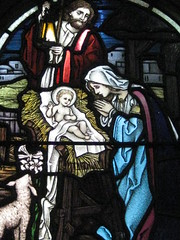 Detail of a Stained Glass Window in the St Peter the Mariner Chapel; the Mission to Seamen - Flinders Street, Melbourne (raaen99) Tags: blue red building church window yellow architecture club joseph hotel inn memorial harbour interior lodging mary religion jesus sailors australia melbourne chapel courtyard victoria manger 1958 lamb bible historical recreation nautical 1910s shelter 20thcentury stable stainedglasswindow biblical edwardian flindersstreet 1917 1900s flindersst holyfamily anglicanchurch welfare 1916 moh leadlight seamen placeofworship spanishmission seafarer churchwindows satinedglass twentiethcentury melbournearchitecture anglicanchapel spanishmissionstyle leadlightglass edwardiana spanishmissionarchitecture inmemorandum walterbutler missiontoseamen melbourneopenhouse hostlery architecturallydesigned openhouse2012 moh2012 melbourneopenhouse2012 missiontoseamenbuildings stpeterthemarinerchapel lindareidkerferd harbourlightsguild