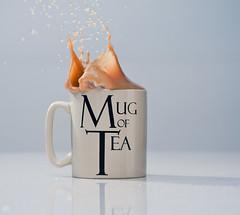 Tea (Zak Milofsky) Tags: nikon tea flash mug splash splatter cls