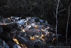 Palizzi di notte (Ilaria Gatto) Tags: italy night village south area calabria notte palizzi superiore grecanica lighys