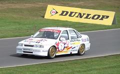Jim Pocklington is his Ex-John Cleland Vauxhall Cavalier (IainW81) Tags: car dave john scotland championship fife cook jim super racing british cavalier 1992 touring 1990 services cleland vauxhall btcc knockhill tourer gsi pocklington dcrs