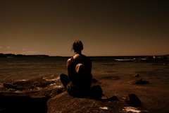 The Sweet Hereafter (Johanna Szyg) Tags: ocean sea beach girl hat vintage way