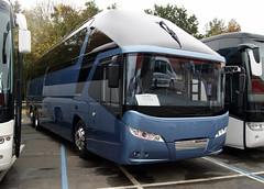 Neoplan Starliner (chrisbell50000) Tags: show new favorite coach birmingham centre exhibition deck national single favourite starliner nec decker demonstrator neoplan eurobusexpo2012 chrisbellphotocom