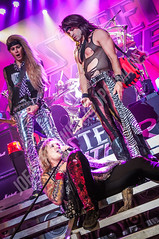 Steel Panther (JPS Images) Tags: lighting girls light music make up leather metal wall hair asian suck drums photography mirror michael hall amazing fantastic jump october all shot boots bass guitar live steel stage cab fat smoke awesome tiger great steps ripped stripe amp it marshall fender civic but presence sixth hooker satchel panther kramer bandanna twenty spandex laney wont lexxi 6th twelve starr 2012 itself foxx stix deaths zadina wolverhamptom