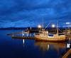 Molde Blue hour (Explore #236 16/4/14) (GillWilson) Tags: norway molde hurtigruten