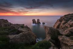 Urros de Liencres (Tomasz Raciniewski) Tags: blue sea seascape rock landscape spain outdoor sigma 1020 cantabria cantabrico liencres d3200 urros