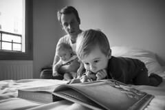 Edouard, Marin, et Clément à Lyon. (Raúl Barrero fotografía) Tags: family portrait baby home seleccionar