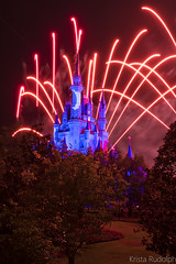 Wishes (krmrudolph) Tags: castle night florida fireworks disney disneyworld wishes cinderella waltdisneyworld themepark magickingdom cinderellacastle disneyatnight