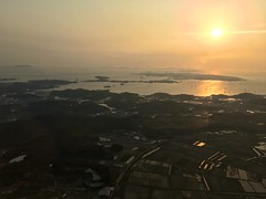 Landing at Incheon (Travis Estell) Tags: inflight korea aerial southkorea intheair republicofkorea