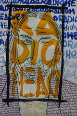 thom yorke / radiohead (nicouze) Tags: portrait colors painting paint drawing thom draw radiohead couleur yorke nicouze