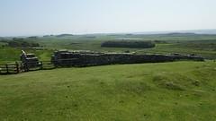 Housesteads Fort (Vercovicium), near Haltwistle, Northumberland, England, UK, 6/2016 (SteveT0191) Tags: uk england flickr roman northumberland hadrian romanempire hadrianswall housesteads geolocated