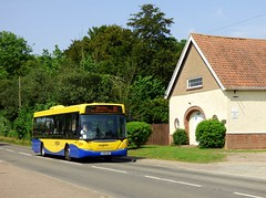 anglianbus 456 - AN61BUS (Zak (Norwich Bus Page)) Tags: 456 2016 anglianbus an61bus scaniak230ubomnilink routeab81 yt61ffb