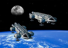 Eagle6 (Sci-fi Zone) Tags: spaceship space1999 space 1999 moon moonbase alpha eagle transporter