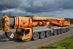 Wm O'BRIEN ENERGY DIVISION LIEBHERR LTM 1500-8.1 07-C-40599 (denzil31) Tags: ireland energy crane wm obrien division hire liebherr ltm150081 liebherrcranes heavyliftengineers heavycranedivision dunmaglass 07c40599