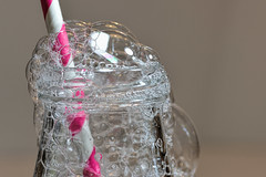 The Bubbles in a Bottle (HMM) (WilliamND4) Tags: macro bottle nikon straw bubbles tokina d750 tokina100mmf28atxprod macromondays tokina100mmf28lens nikond750