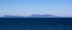 Blue Isles of Eigg and Rum (saxaphonejan) Tags: sea sky islands scotland highlands rum lochaber eigg
