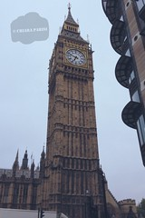 ( Black Orchid ) Tags: sky london tower clock westminster cloudy walk bigben lonely