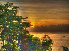 Sunset at Beach View Villas, Barbados 2 (BeattyKen) Tags: barbados brb saintjames