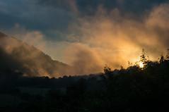 velka fatra sunset