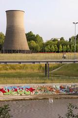 andavamo al fiume a scarrellare (Zioluc) Tags: park urban tower torino industrial turin cooling parcodora luciobeltrami