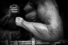 @ Kumortuli (Kals Pics) Tags: kumortuli kolkata westbengal sculpture art statue blackandwhite colorless monochrome hands culture tradition dhasara festival durga goddessofwar dussehra dasara mahishasura demon god incredibleindia sculptor pov perspective cityofjoy ancientcity historiccity mahishasuramardhini cwc roi chennaiweelendclickers rootsofindia culturalindia divineindia arms muscles goddessdurga history myth legend blackwhite mythology kalspics