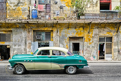Streets Of Havana (Simone Della Fornace) Tags: street old city travel urban building green tourism car architecture sony havana cuba streetphotography landmark tourist historic caribbean cuban derelict dilapidated urbex traveldestination touristicdestination a7rii