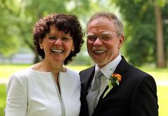Brautpaar (FlyingFocus) Tags: wedding grn hochzeit schwarz trier mosel lcheln braut spas weis monaise