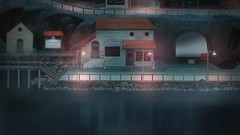 Oxenfree_20160615211427 (arturous007) Tags: oxenfree playstation ps4 playstation4 pstore psn horror sciencefiction sf teenager share art artwork 2d bluehair ghost radio