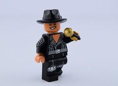Lego Michael Jackson (Alex THELEGOFAN) Tags: lego michael jackson king pop singer micro hat gold hand star