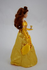 2016 Belle Classic 12'' Doll - US Disney Store Purchase - Deboxed - Standing - Full Left Side View (drj1828) Tags: disneystore doll 12inch classicprincessdollcollection 2016 purchase belle beautyandthebeast chip deboxed standing