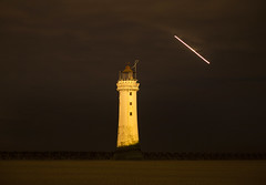 New Brighton Lighthouse Explored 2/7/2016 (David Chennell - DavidC.Photography) Tags: lighthouse beach night wirral newbrighton newbrightonlighthouse
