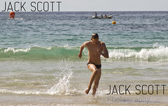 Mollymook Beach Ocean Swim 2012 (jack.scott) Tags: ocean classic beach water race swim outdoors person sand 1st action australia 15 running nsw winner swimmer april newsouthwales southcoast sprint mollymook 24105mm canon7d bradhorrey