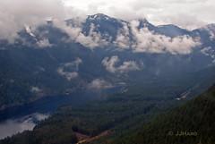 Capilano Lake (JJHaro) Tags: cloud mountain lake canada vancouver lago bc north grouse columbia british capilano nube